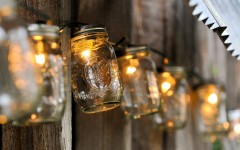 contemporary lighting lamps that will make your yard shine mason jars