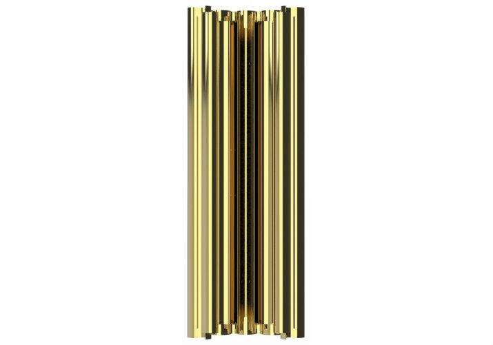 Contemporary Lighting - 10 golden wall sconces