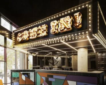 Hotel Lobby Contemporary Lighting