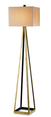 Contemporary Lighting Bel Mondo Floor Lamp by Currey and Company