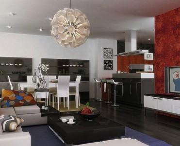 Contemporary lighting contemporary lighting - Cool lights for living room ...