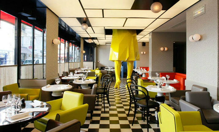 Restaurant interior design color schemes