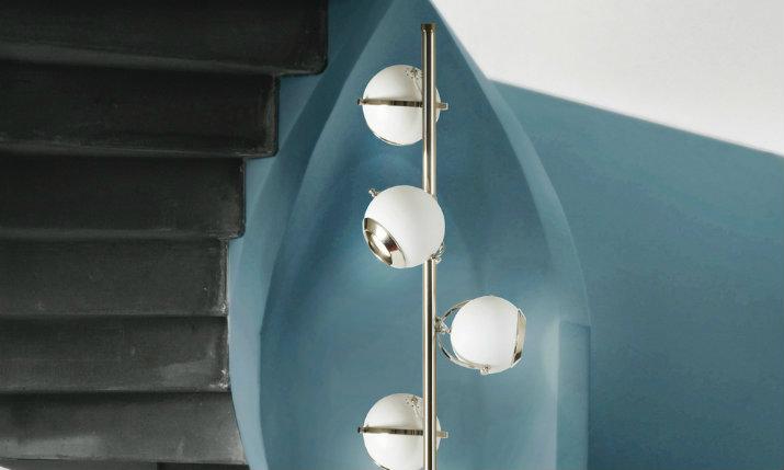 Silver Floor Lamps