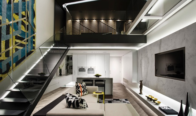 Contemporary Apartment Small Sometimes can mean Great: A Contemporary Apartment in Cape Town De Waterkant Apartment AARCC 1