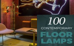 100 Contemporary Floor Lamps NEW & FREE EBOOK