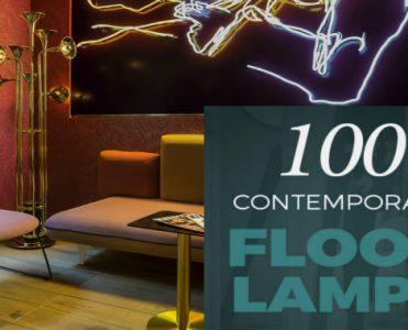 100 Contemporary Floor Lamps NEW & FREE EBOOK