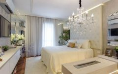 Luxurious chandeliers for your Bedroom Design feature