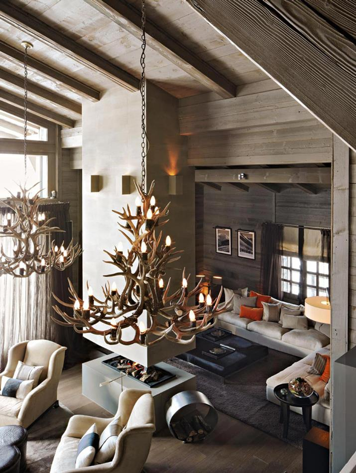 The Ski chalet France Kelly Hoppen living room projects using contemporary lighting Kelly Hoppen Kelly Hoppen living room projects using contemporary lighting The Ski chalet France Kelly Hoppen living room projects using contemporary lighting