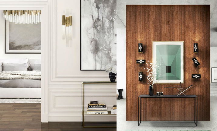 5 wall sconces to use in your Entrance