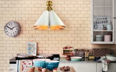 Colorful Kitchen Lighting Ideas by DelightFULL Madeleine