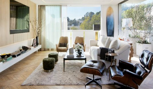 Contemporary inspirational apartment in Los Angeles, capa