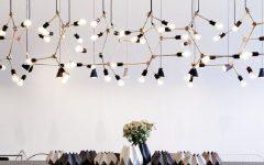 modern lighting installation