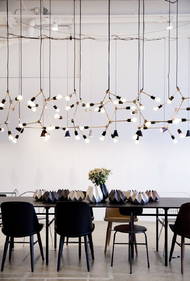 modern lighting installation  Contemporary Modern Lighting Installation modern lighting installation