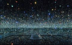An Infinite Universe Inside the Mirrored Lighting Room