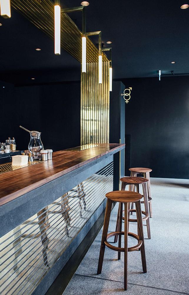 Midcentury Herzog Bar Restaurant In Munich Midcentury