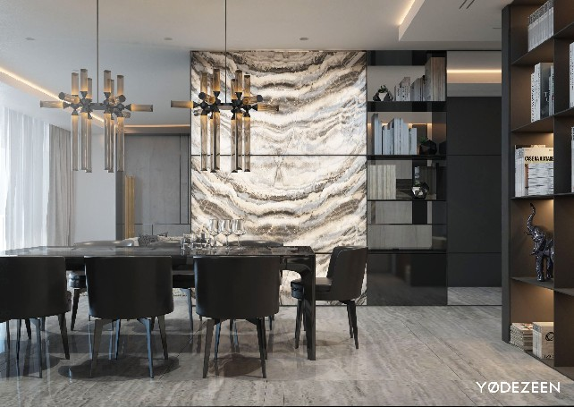 Contemporary Lighting In A Miami House