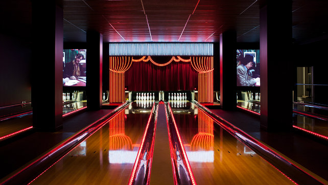 Best Commercial Projects in NYC According to Expressive Lighting commercial projects Best Commercial Projects in NYC According to Expressive Lighting bowlmor