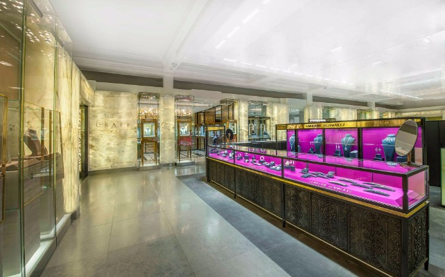 8 worldwide known stores designed by David Collins Studio