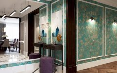 Art Deco Project in Minsk with contemporary lighting