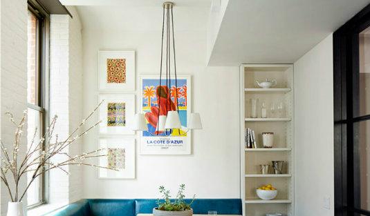 Stylish NY Loft Turned into a Contemporary Home