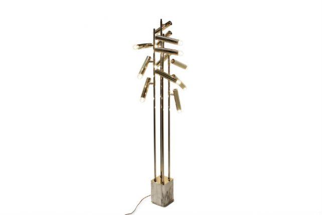 10 Golden Floor Lamps to Enrich Your Home floor lamps 10 Golden Floor Lamps to Enrich Your Home 4 2 e1480431110875