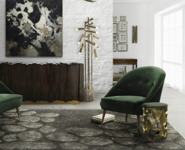 10 Golden Floor Lamps to Enrich Your Home