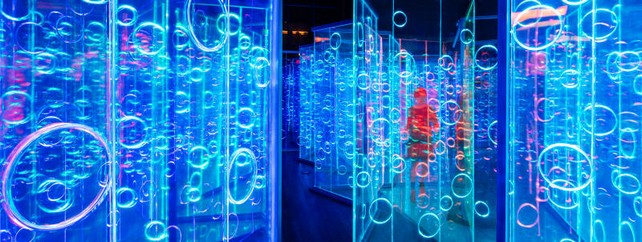 Light Maze by Brut-Deluxe Creates an Immersive Room in China