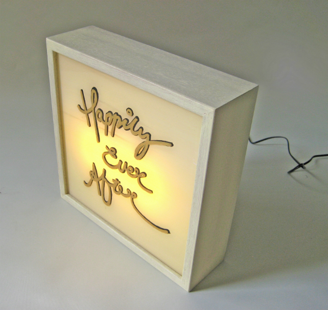 Say it with a Light Box with Bingkai Light Box Say it with a Light Box with Bingkai 3 6
