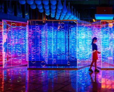 Light Maze by Brut Deluxe Creates an Immersive Room in China