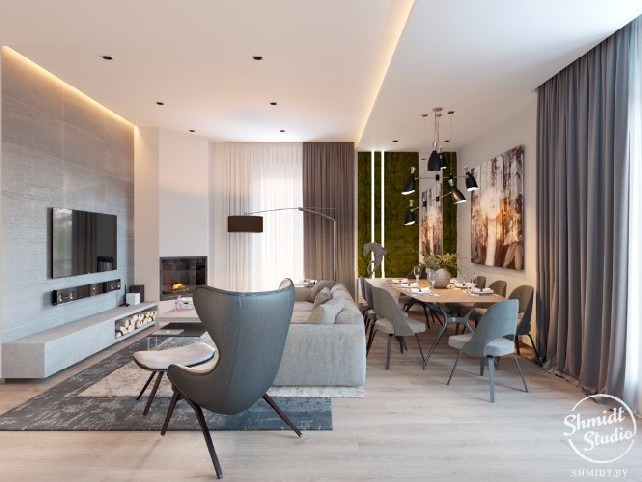 Contemporary Designs Bring Light to Living Room in Minsk Contemporary Designs Contemporary Designs Bring Light to Living Room in Minsk Contemporary Designs Bring Light to Living Room in Minsk 5