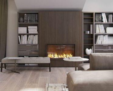 Italian Apartment Lighten by Contemporary Lighting Designs