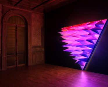 Lighting Installation by Flynn Talbot Creates Multicolored Forms in Perth