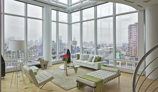Contemporary Lamps and Sweeping Views in a Marie Burgos Penthouse contemporary lamps Contemporary Lamps and Sweeping Views in a Marie Burgos Penthouse Contemporary Lamps and Sweeping Views in a Marie Burgos Penthouse 2 feat