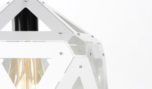 Contemporary Lighting with a Twist- Exploring the Icosahedral Shape