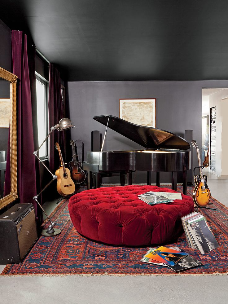 Rock Star Adam Levine's Home is Brimming with Contemporary Lighting!