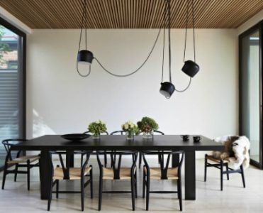 All in One Place: Contemporary Lamps and a Dreamy Outdoor
