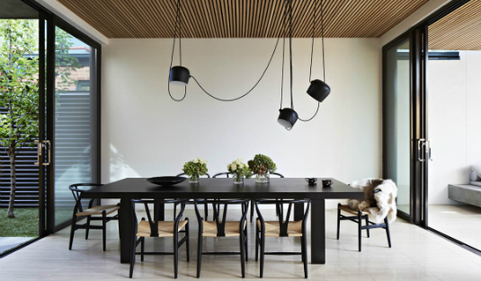 contemporary lamps All in One Place: Contemporary Lamps and a Dreamy Outdoor Open Plan Contemporary House with a Dreamy Outdoor Design 5 feat cl