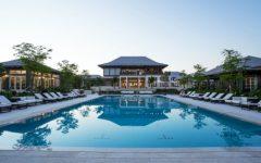 Bahamas Island House by Champalimaud Design with Stunning Light