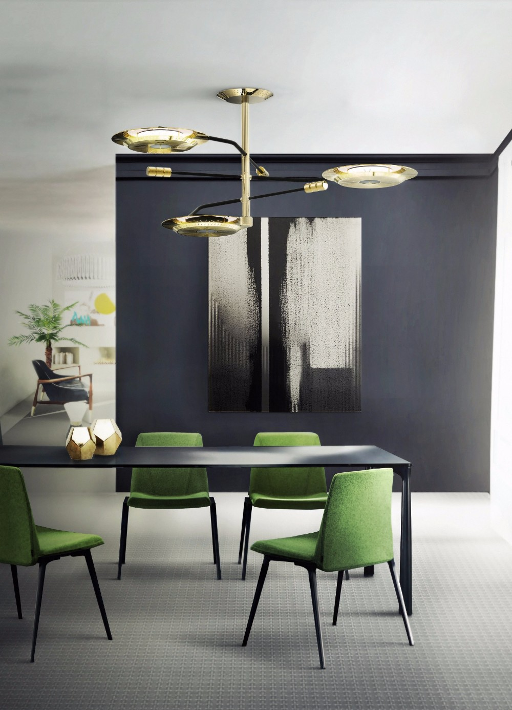 15 Ideas on How to Use Golden Contemporary Lamps in Your Home