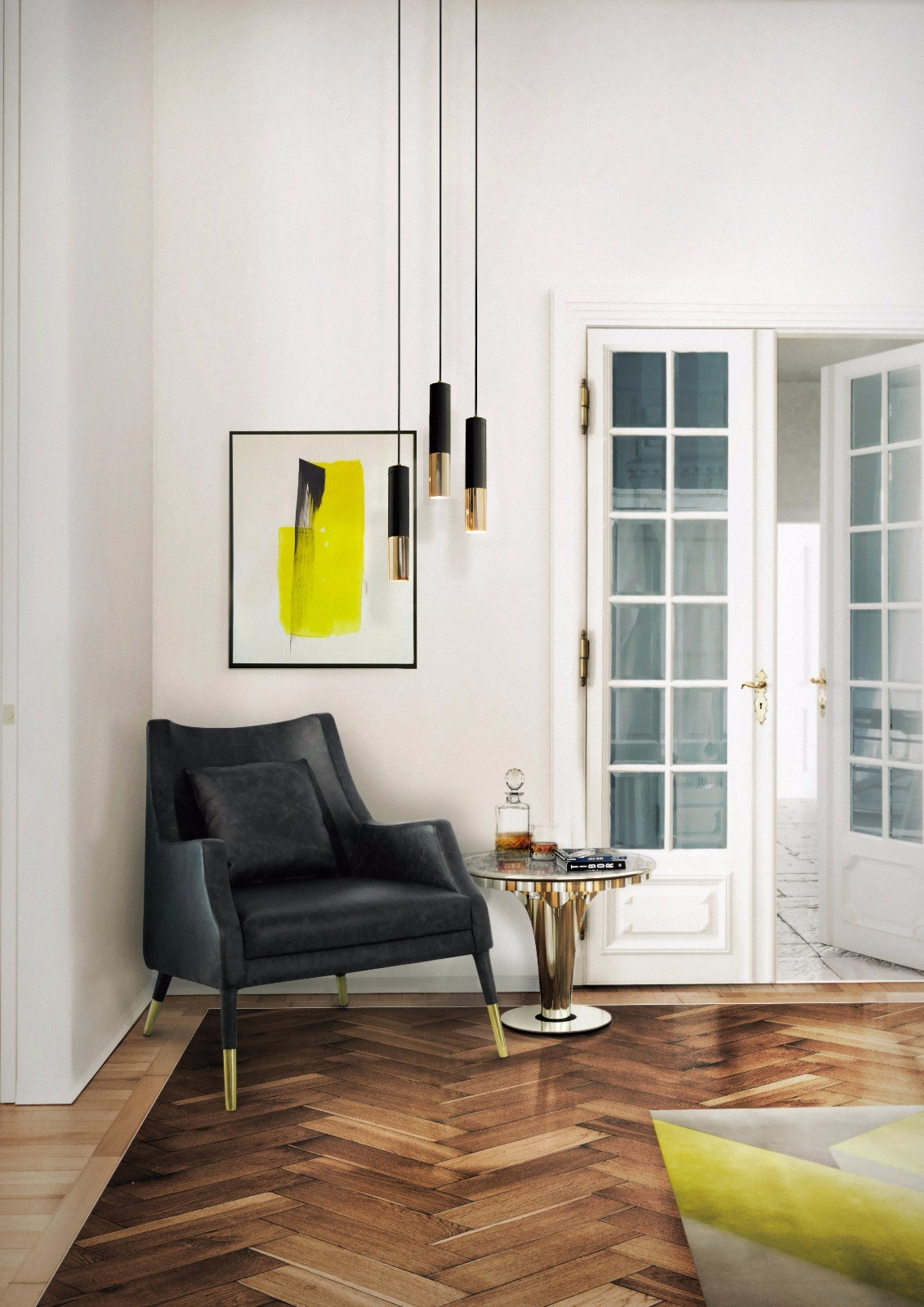 Contemporary Lighting Ideas A Minimalist Pendant Lamp