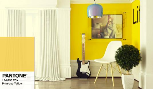Mood Board- Inspiring Ideas featuring Primrose Yellow