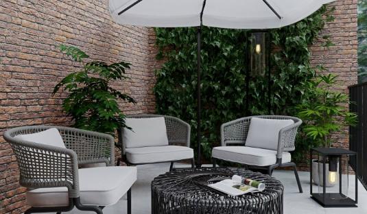 Perfect luxurious lighting living room