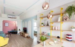 Mix & Match- Pastel Home Decor and Contemporary Lighting