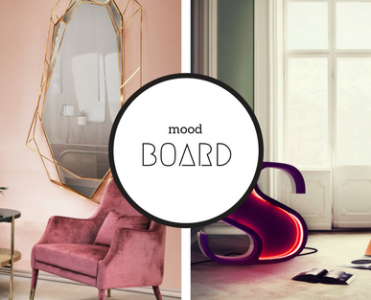 Mood Board: Pink Contemporary Lamps and Cool Ideas for Your Home