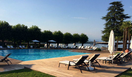 A Five-Star Hotel in Lake Garda with Bespoke Contemporary Lamps