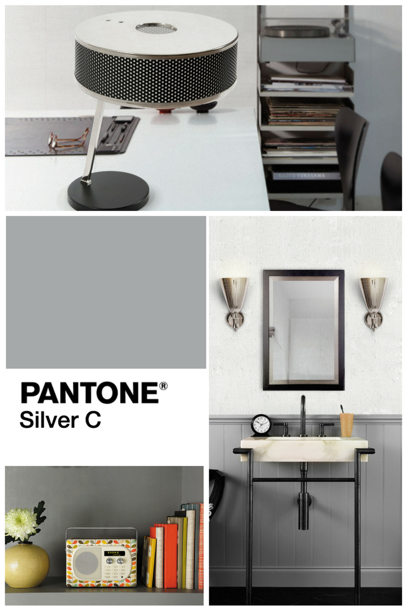 Mood Board- When a Gray Living Room Has the Best Lighting