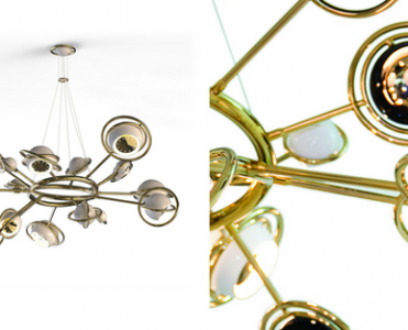 The Best Contemporary Lighting- A Mid Century Modern Chandelier