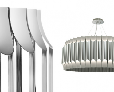 The Best Contemporary Lighting: An Industrial Round Pendant Light