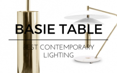 The Best Contemporary Lighting- A Sleek Mid-Century Table Lamp