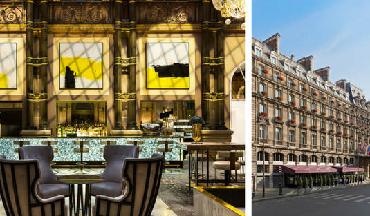 Hotel Opera Paris Shines With Mid-Century Modern Lighting